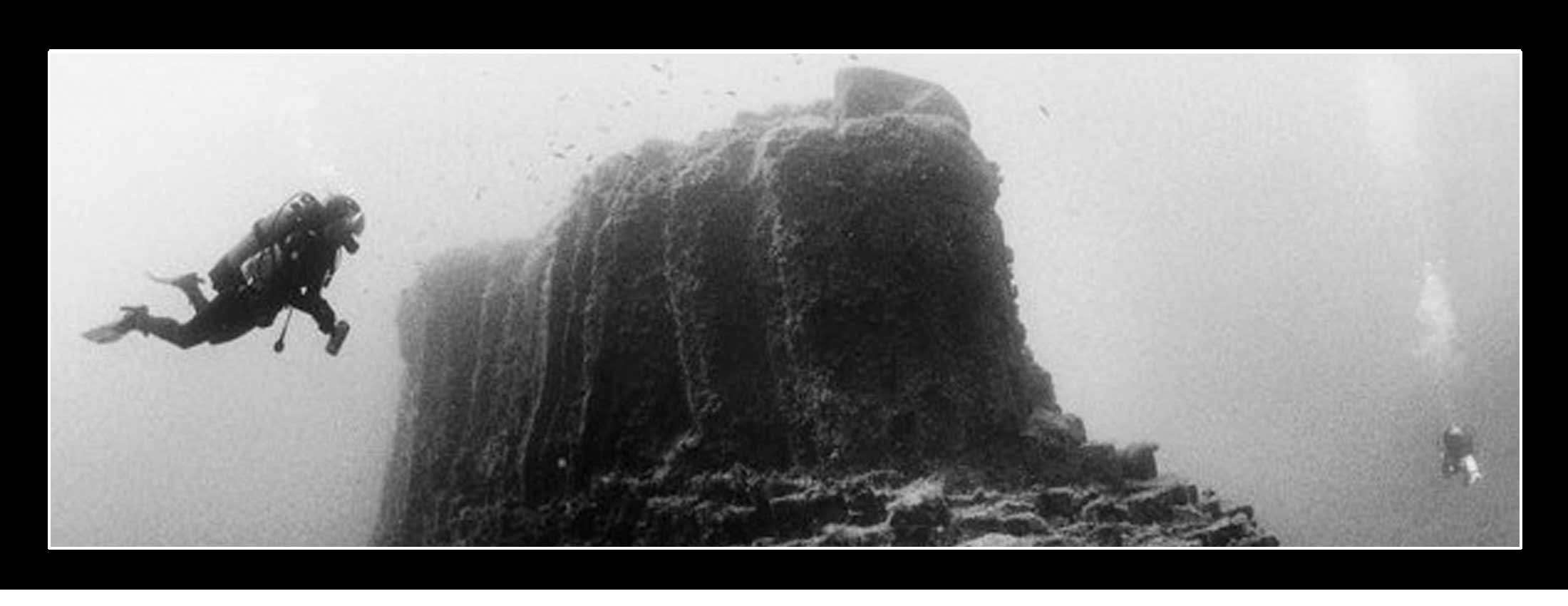 Diving points. inmersions las Negras diving